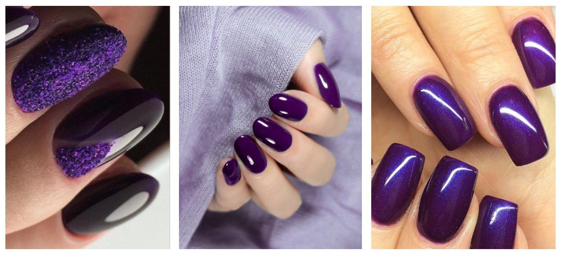 Dorable Uñas Violetas Imagen - Ideas de Diseño de Pintura de Uñas ...